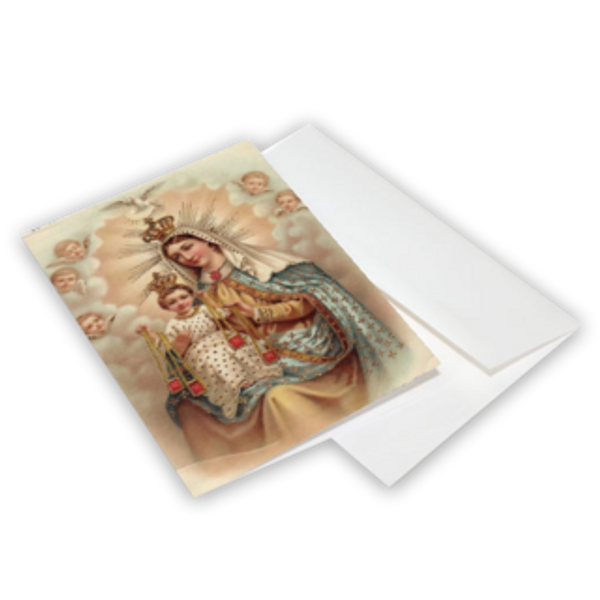 Our Lady of Mt. Carmel Greeting Cards 10-Pack