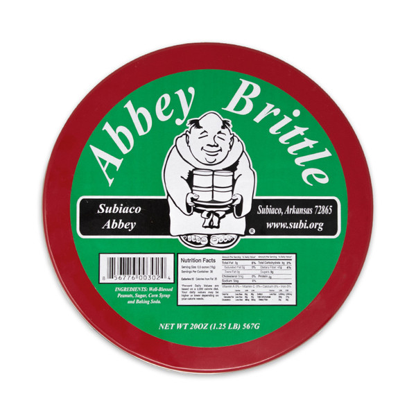 Abbey Brittle | Peanut Brittle from the Monks of Subiaco Abbey
