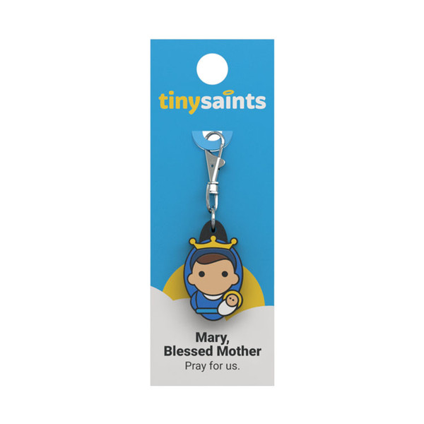 Mary, Blessed Mother - Tiny Saints Charm