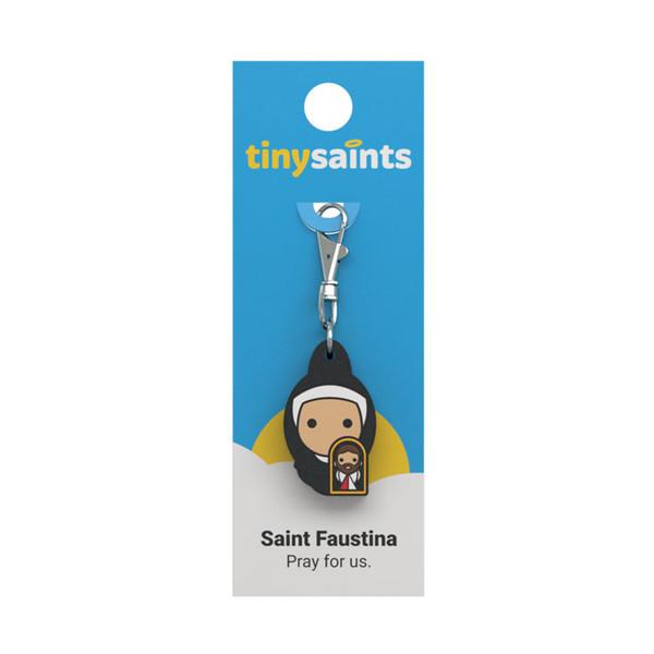Saint Faustina - Tiny Saints Charm