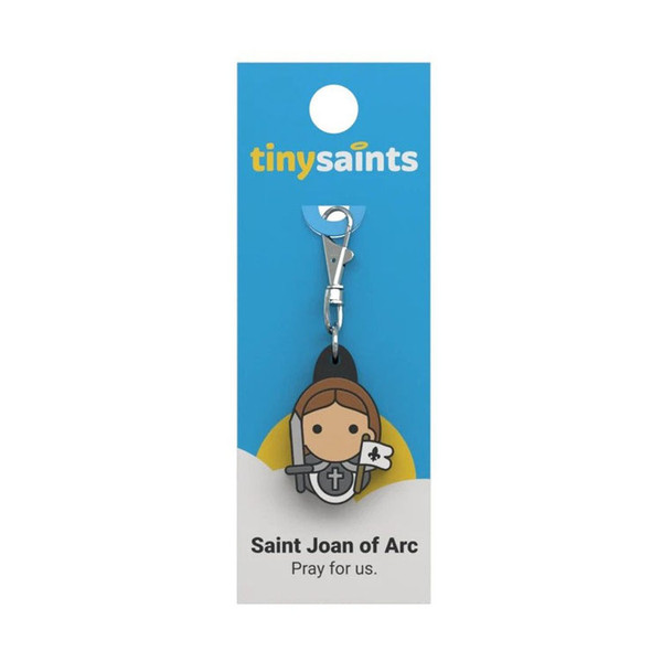 Saint Joan of Arc - Tiny Saints Charm