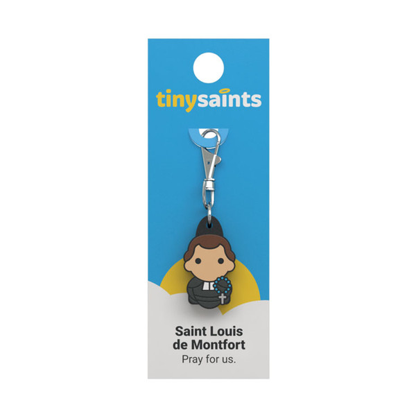 Saint Louis de Montfort - Tiny Saints Charm