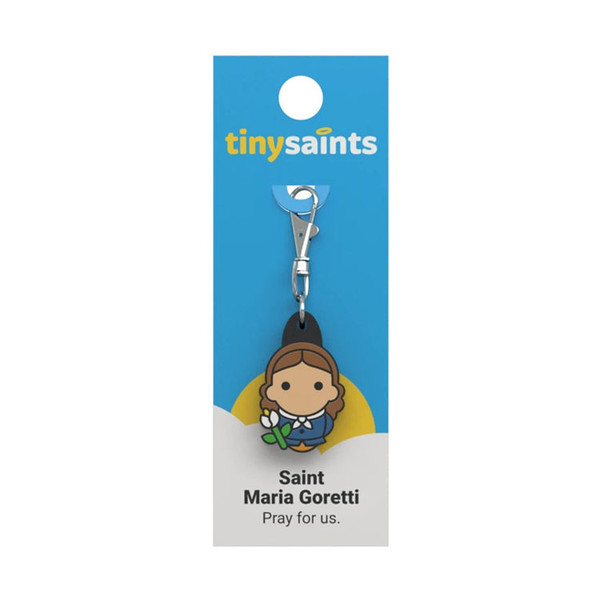 Saint Maria Goretti - Tiny Saints Charm