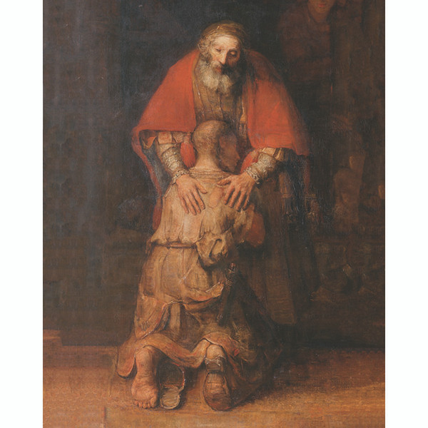 """Rembrandt: Return of the Prodigal Son - Canvas Print - 8"""" x 10"""""""
