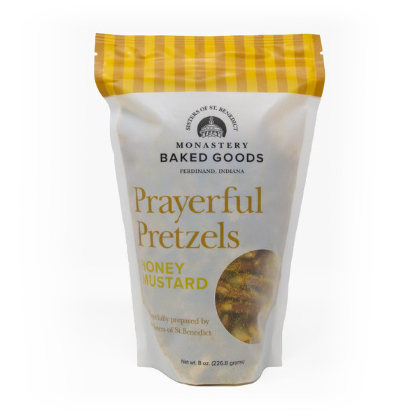 Monastery Baked Goods | Prayerful Pretzels - Honey Mustard - 8oz
