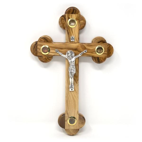 Byzantine Olive Wood Cross