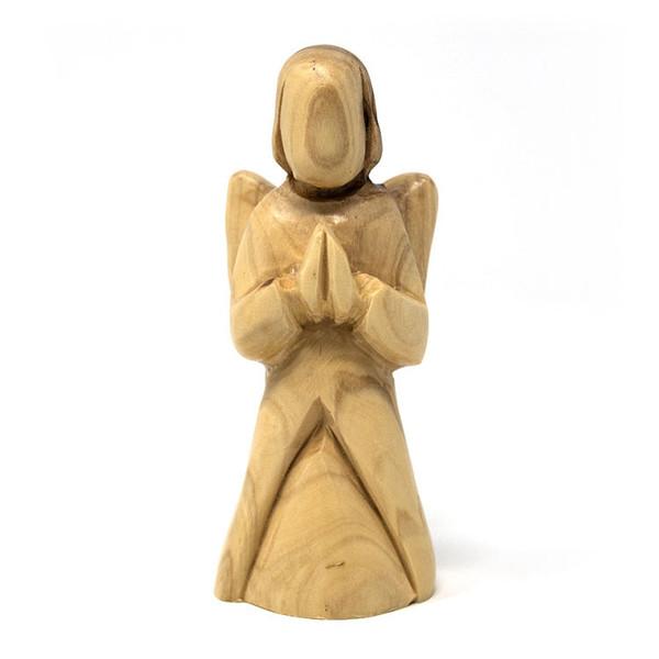 Olive Wood Praying Angel