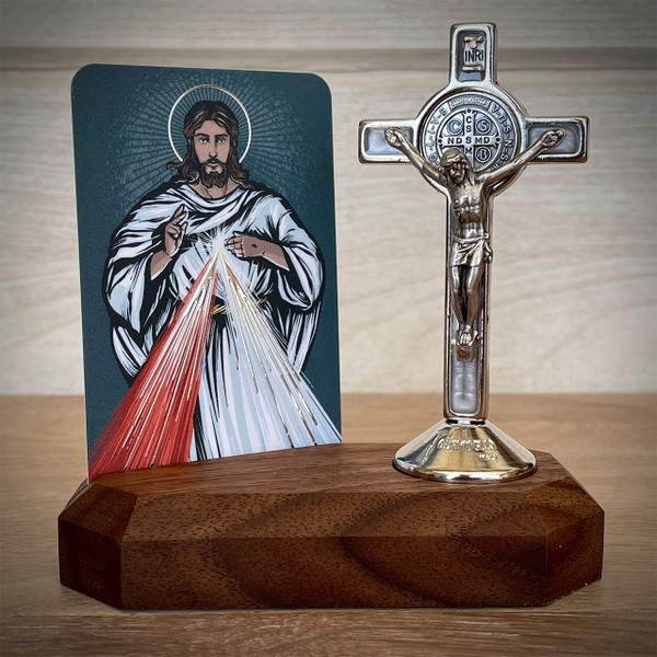 Home Altars | Divine Mercy | The Catholic Woodworker | LIMITED EDITION
