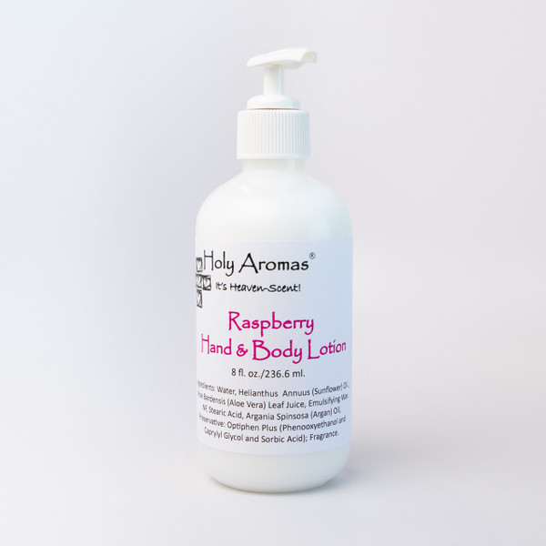 Holy Aromas® | Hand and Body Lotion - Raspberry - 8oz