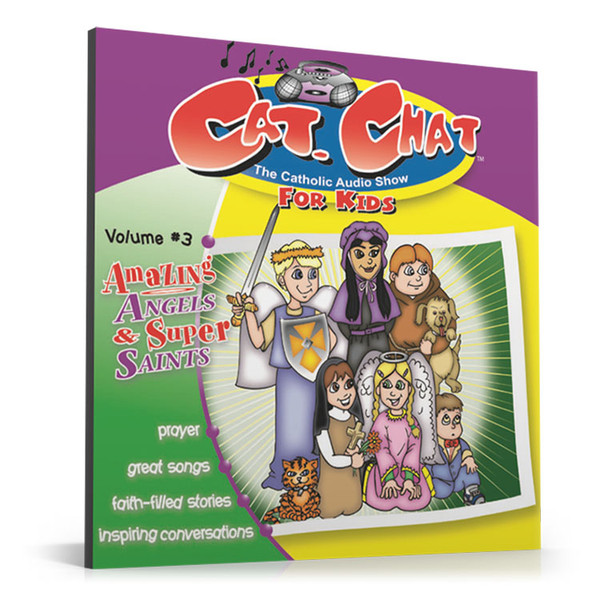 Cat Chat: Amazing Angels & Super Saints