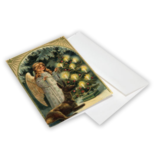 Christmas Angel Greeting Cards 10-Pack