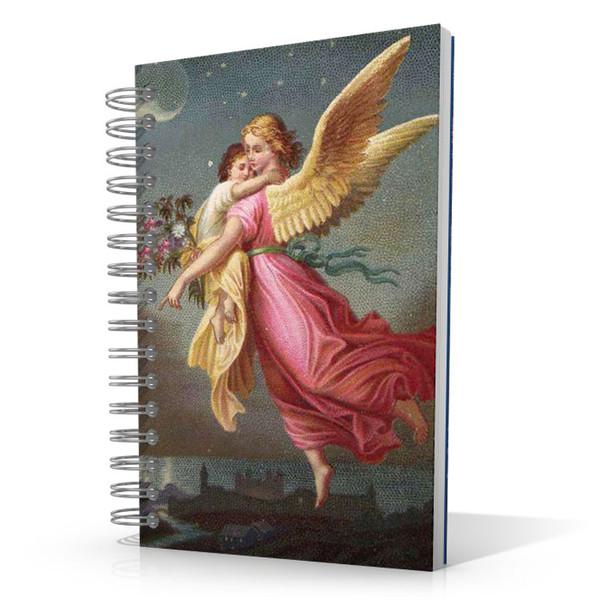 Angel in Flight 5.5 x 8.5 Journal