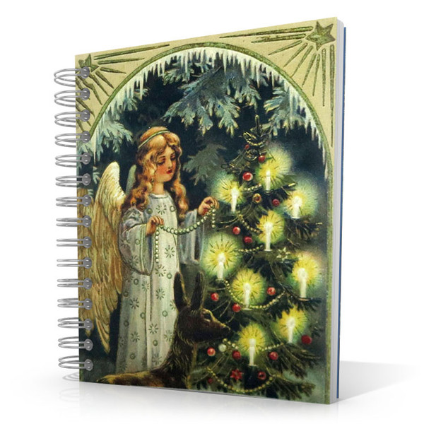 Christmas Angel 5 x 4 Notebook