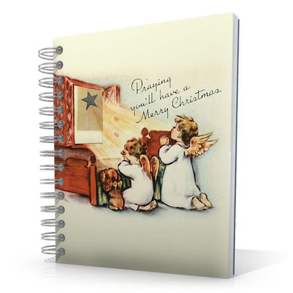 Praying - Merry Christmas 5 x 4 Notebook