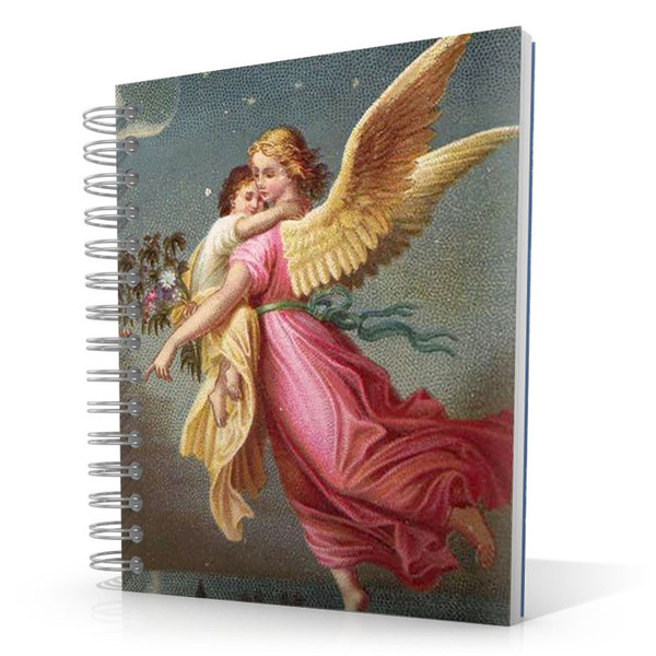 Flying Angel 5 x 4 Notebook