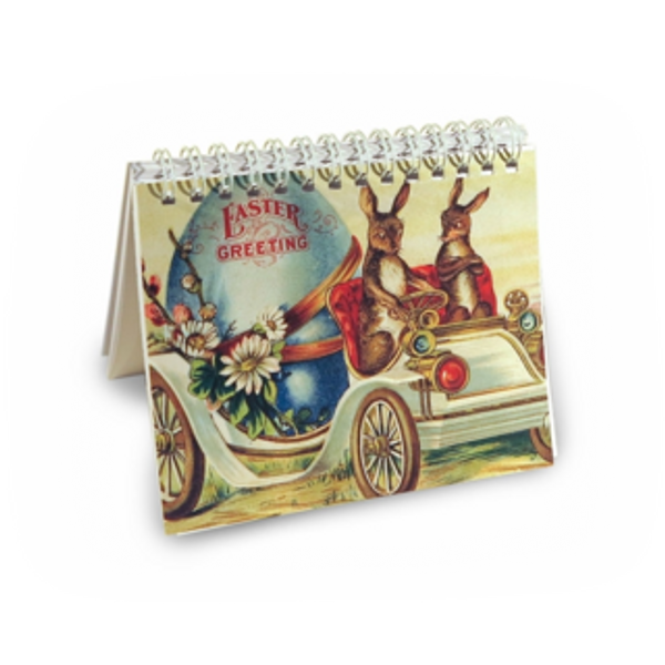 Easter Bunny Car 5 x 4 Notebook