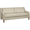 Mid Century Ready to Assemble Sofa in Lunar Linen- DS-A190-680-485