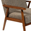 Wood Frame Accent Chair in Calypso Waterfall - DS-D030003-487