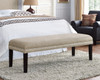 Upholstered Bed Bench with Nail Head Trim - DS-8632-400