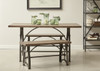 Rosebank Wood & Metal Dining Bench - DS-D089