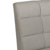 Modern Grid Upholstered Settee in Whisper Platinum - DS-D110-400-496