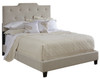 All-N-One Fully Upholstered High Back Bed Queen- DS-1931-290