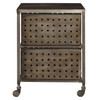 Delancy Two Drawer Cart