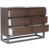 Baxter 6-Drawer Industrial Dresser