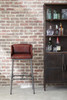 Brandon Industrial Leather Barstool - DS-P006044