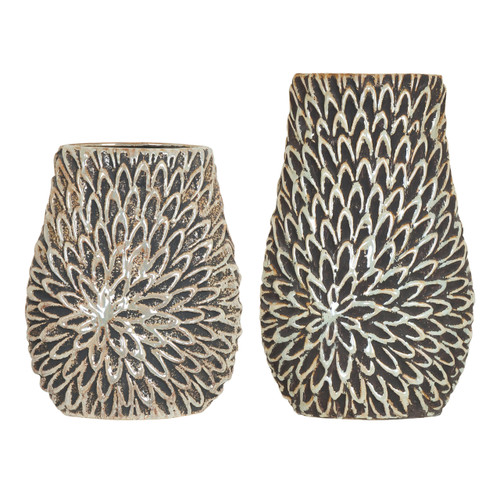 Petal Vases Set of 2