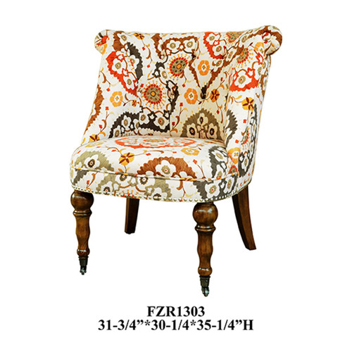 Hutchison Pattern Fabric Chair