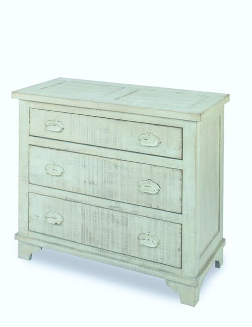Industrial Chest - Mint Green