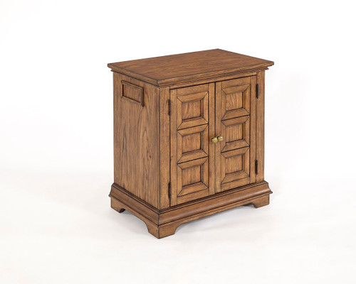 2 Door Nightstand Oak