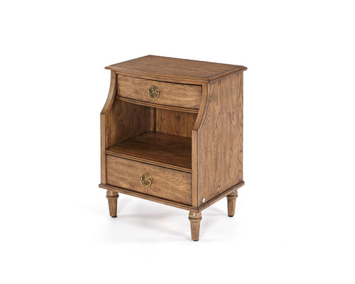2 Drawer Nightstand Toffee