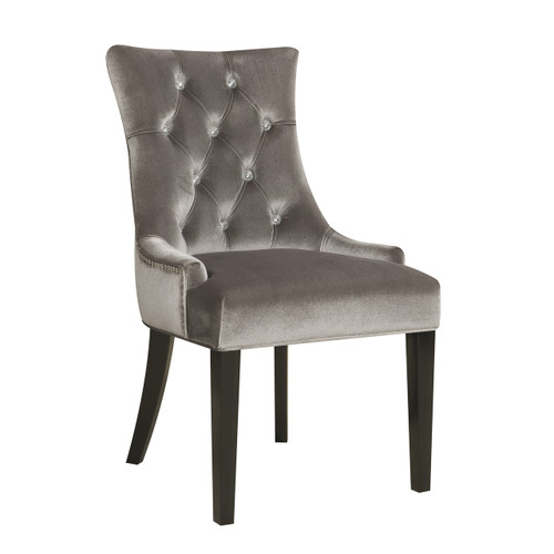 Dining Chair Chrome Velvet - DS-2514-900-204