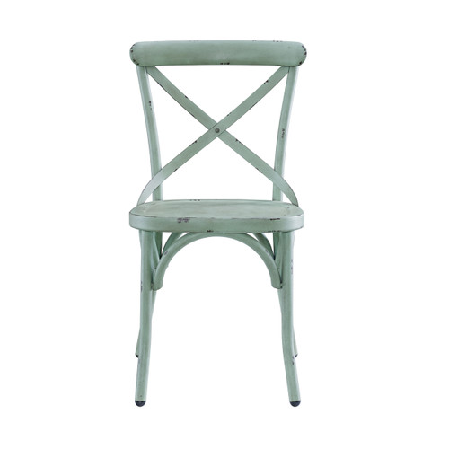 Bowery Dining Chair- Blue/Green