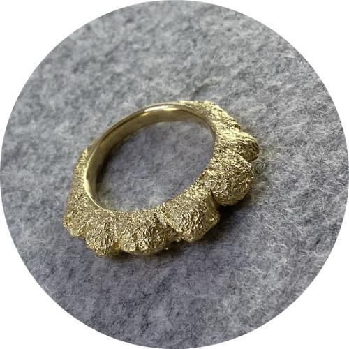 Virginia Sprangue - Ring, 14ct Yellow Gold, Size O