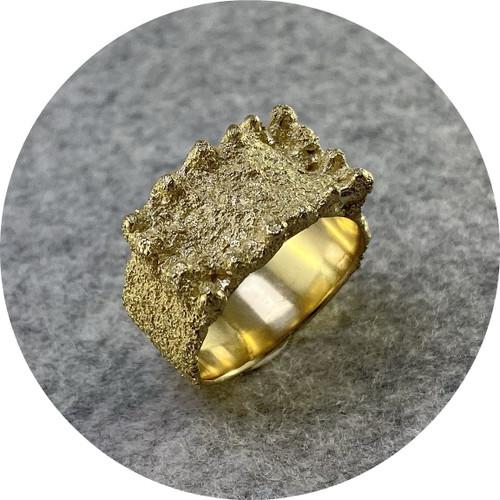 Virginia Sprague - Ring, 14ct Yellow Gold, Size Q