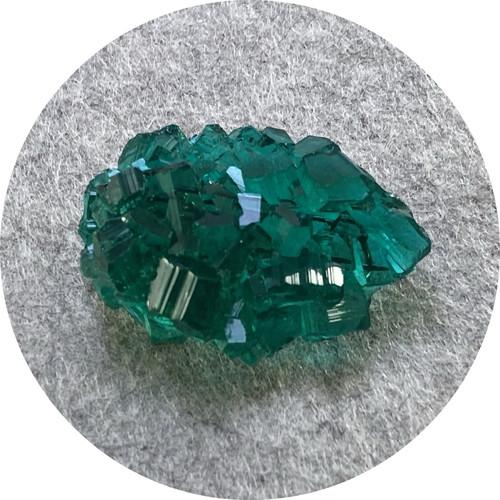 Simon Williams - 'Mineralist Brooch', resin, stainless steel