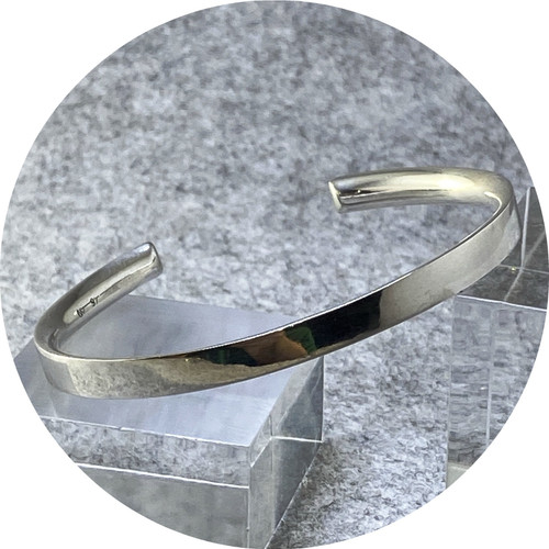 Nicola Knackstredt - The Cuff (polished), sterling silver