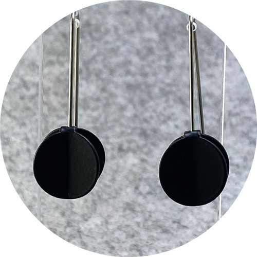 Ferro Forma - Wing Earrings (Extra Small), stainless steel