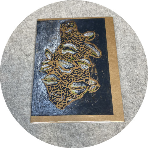 Elaine Camlin - Limited Edition Cards, hand printed and coloured relief