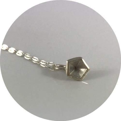 Valeria D'Annibale- Vertigo Necklace, Polished Sterling Silver