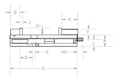 Kurt DX6 Dimensional Data