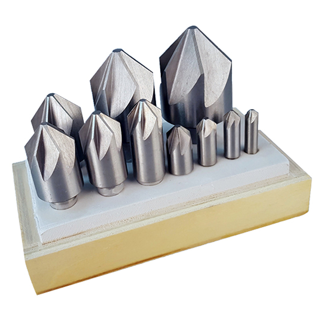 "1-1//4/"" 60 DEGREE HIGH SPEED STEEL 3 FLUTE COUNTERSINK"