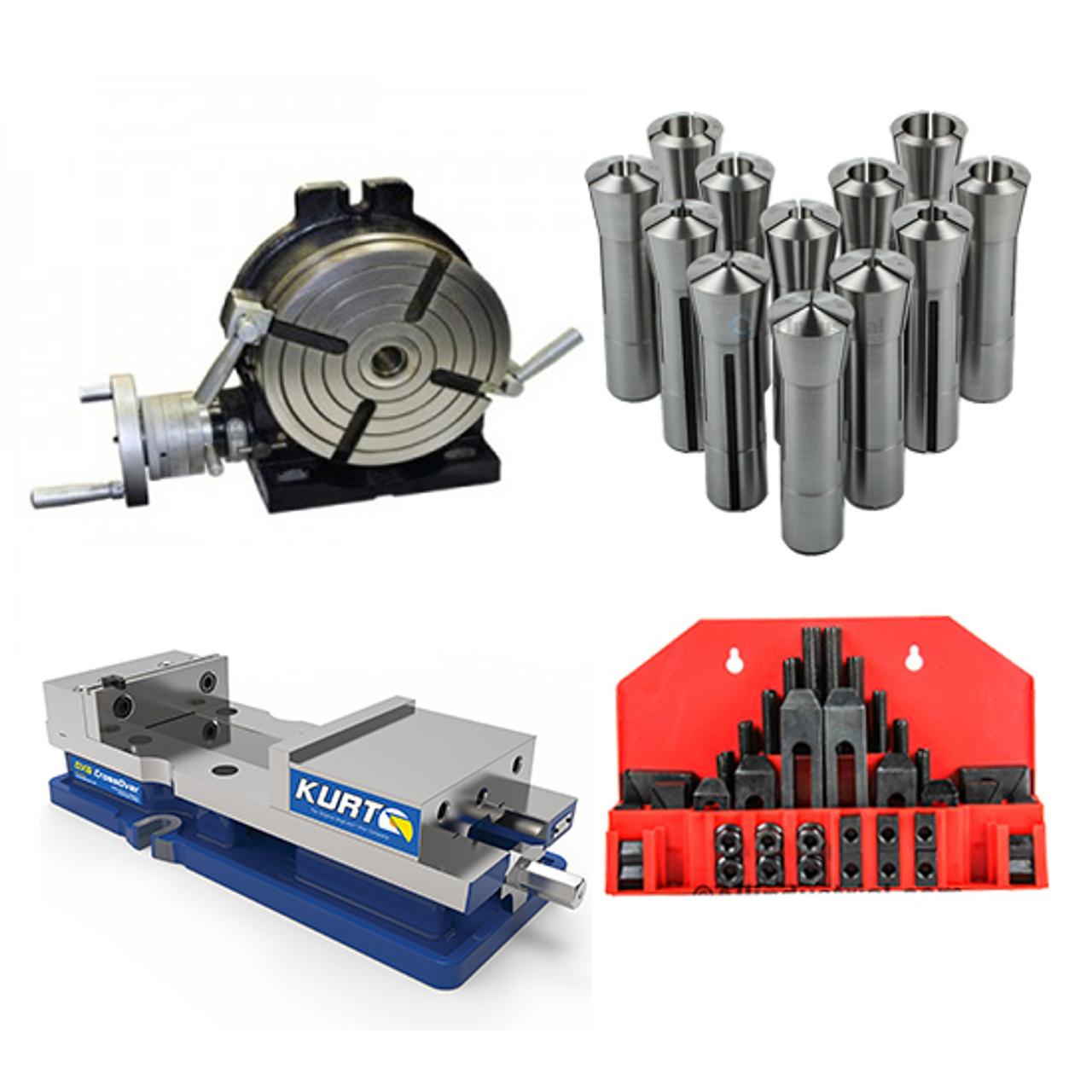 """58 Pcs Pro-Series 1//2/""""T-Slot Clamping Kit Bridgeport Mill Set Up Set"""