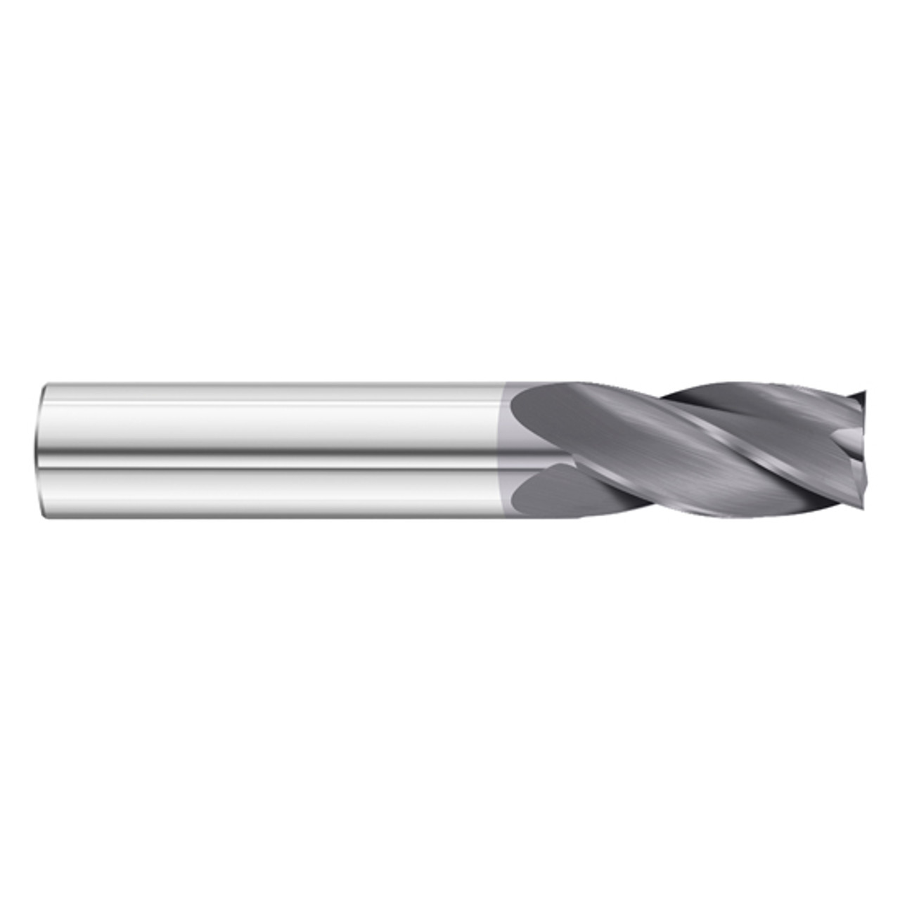 Fullerton Tool 27669 16mm Diameter x 16mm Shank x 30mm LOC x 150mm OAL 3 Flute Uncoated Solid Carbide Radius End Mill
