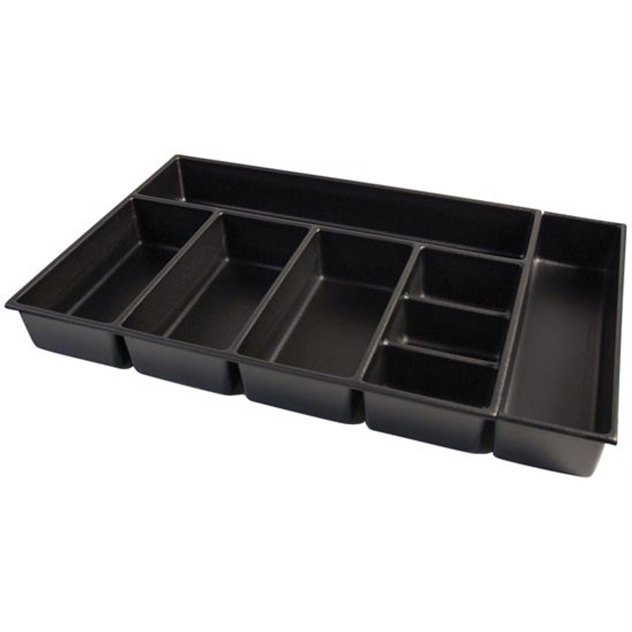 """Kennedy 81937   4"""" High 8-Compartment Black Drawer ..."""