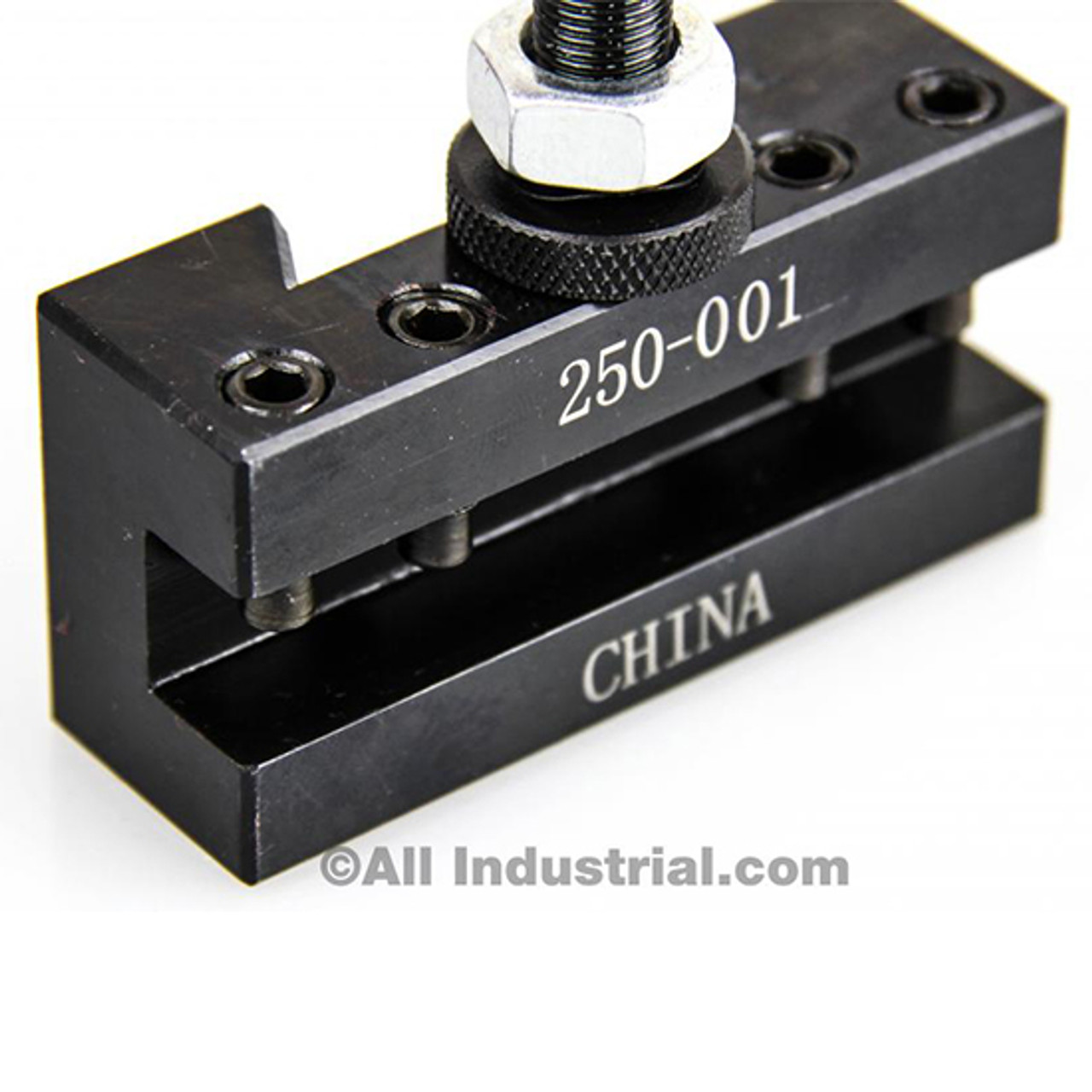 """NEW OXA Wedge Type Tool Post Set 250-000 For Mini Lathe 8/"""" and Two Extra 250-001"""
