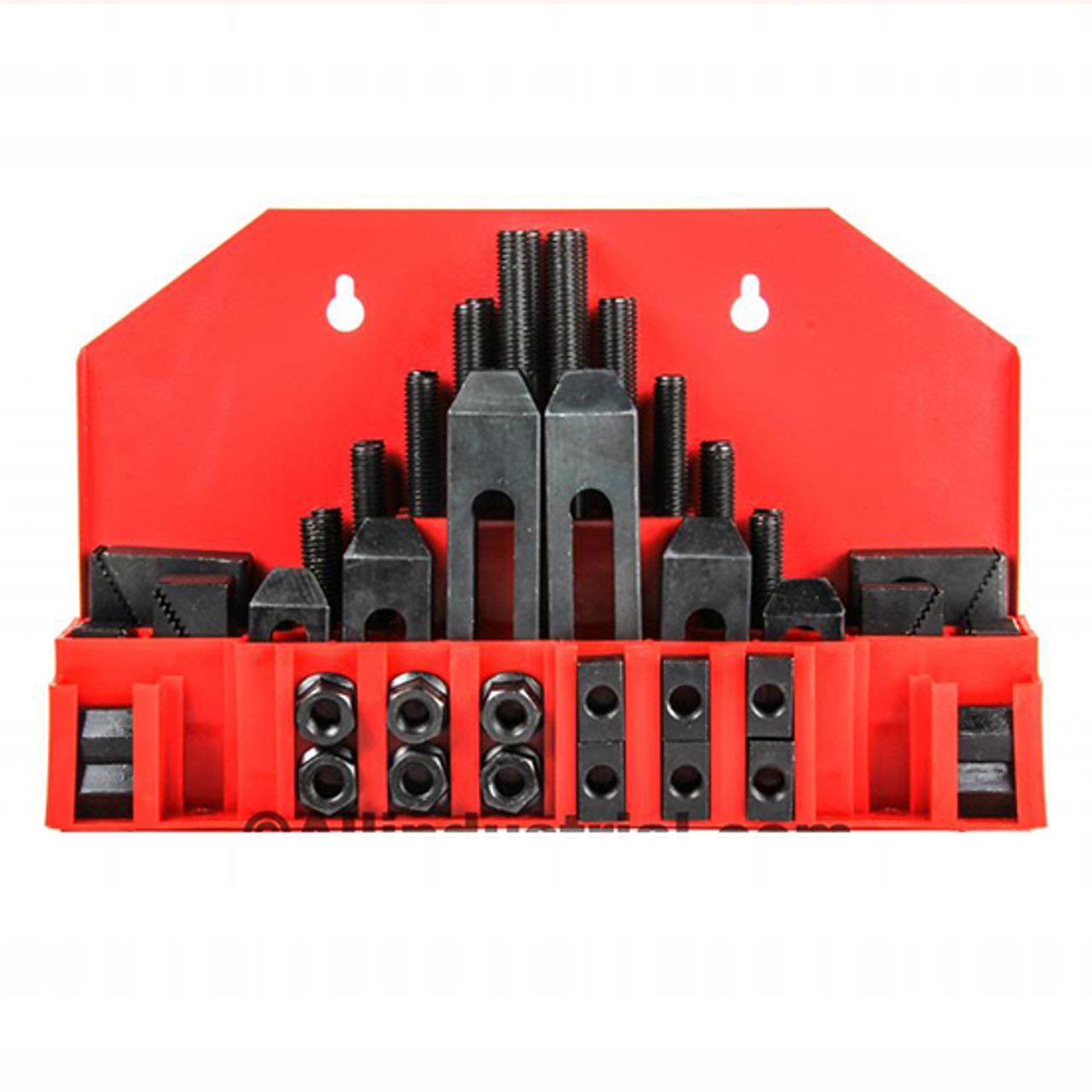 2 Pc 5//8/'/'  Adjustable T-Slot Hold Down Clamp 1//2/'/'-13 Clamping Range